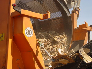 Trommel Screen & Wood-Chip